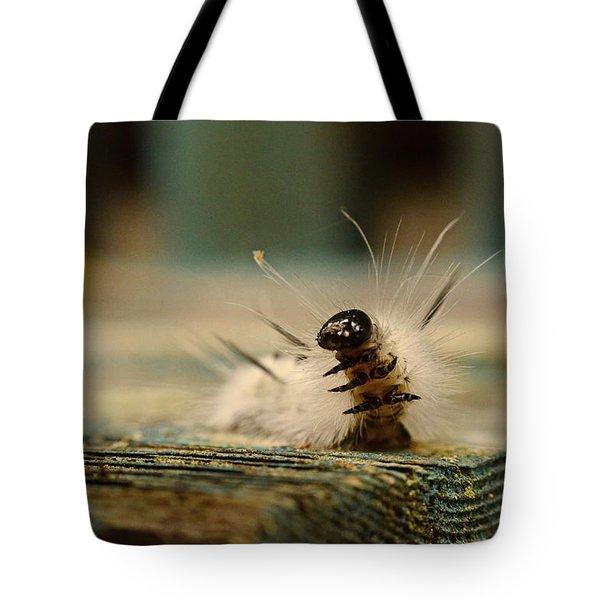 I Am A Caterpillar Tote Bag
