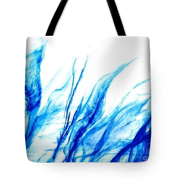 I Am Aether Here Or There Tote Bag