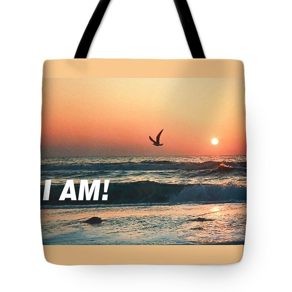 The Great I Am  Tote Bag