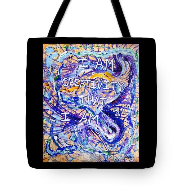 I Am Creativity Tote Bag