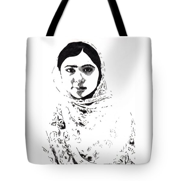 I Am Malala. Tote Bag