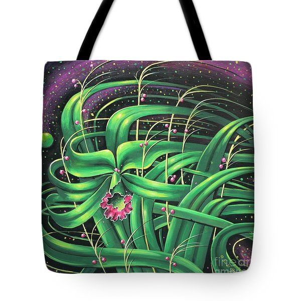 Tote Bag featuring the painting I Am by S G