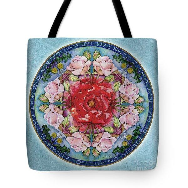 I Am That Mandala Tote Bag