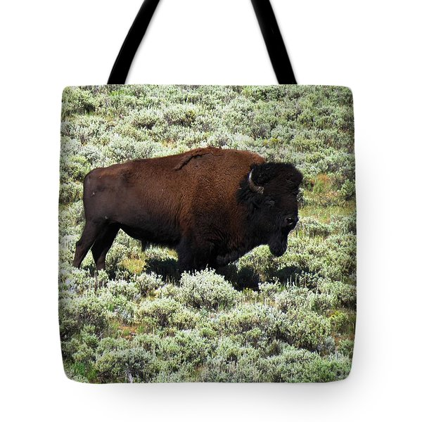 I Am The King Of This Meadow Tote Bag