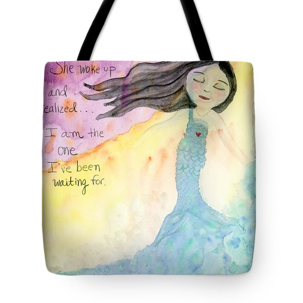 I Am The One  Tote Bag