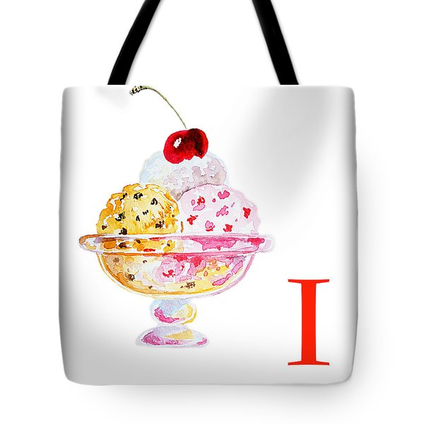 I Art Alphabet For Kids Room Tote Bag