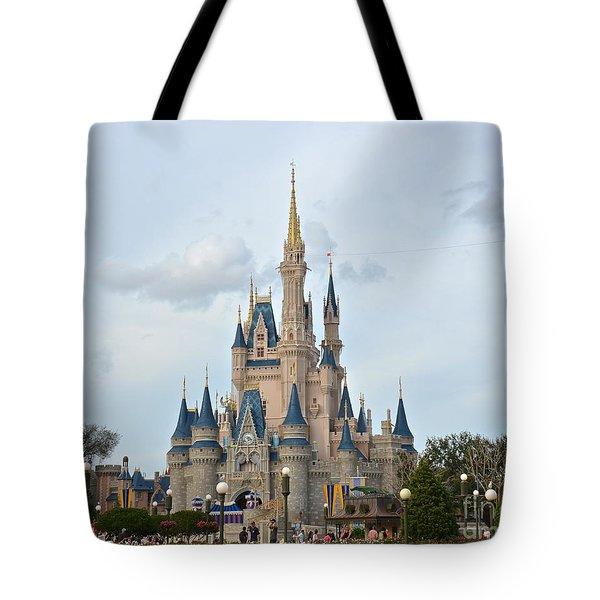 I Believe In Magic Tote Bag by Carol  Bradley