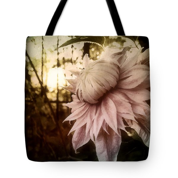 Tote Bag featuring the photograph I Bloom Only For You She Whispered by Susan Maxwell Schmidt