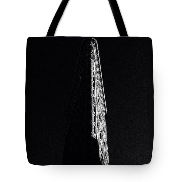 Flat Iron In Shadows Tote Bag