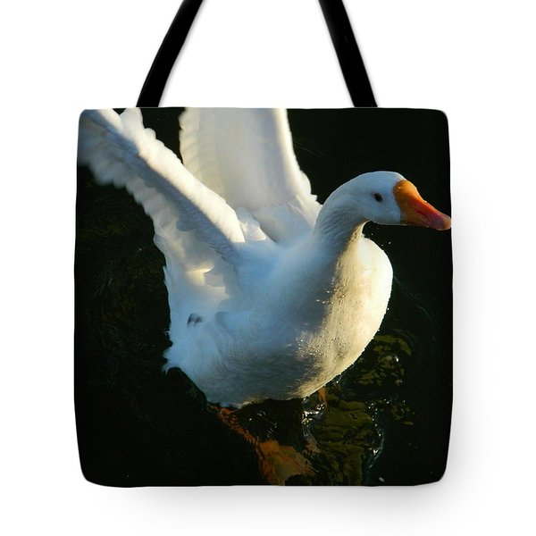 Tote Bag featuring the photograph I Can Fly by Emmy Marie Vickers