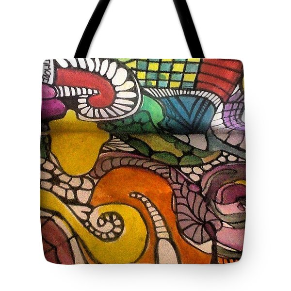 Life Is Better In Color Tote Bag