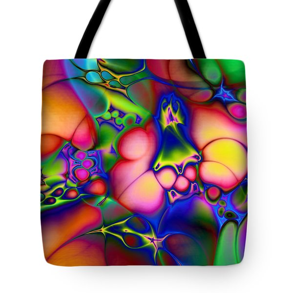 Tote Bag featuring the digital art I Don't Think We're In Kansas Anymore by Casey Kotas