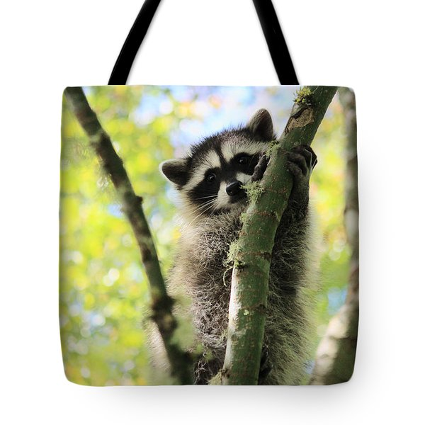 I Don't Want To Come Down Tote Bag by Kym Backland