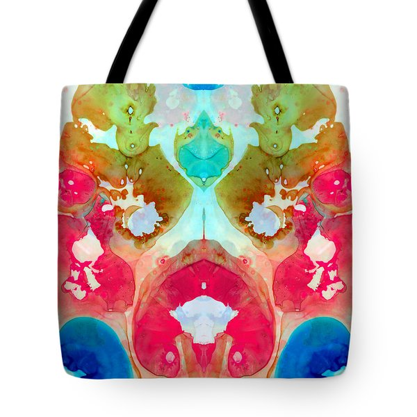 I Found Your Dog - Art By Sharon Cummings Tote Bag by Sharon Cummings