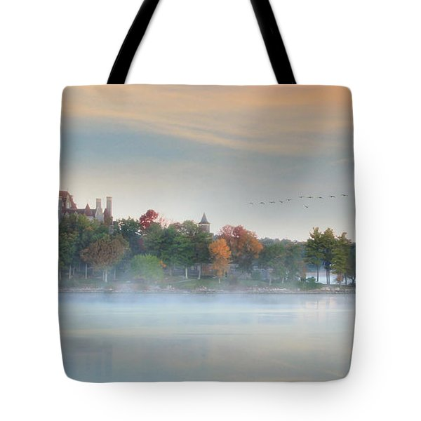 I Get Misty Tote Bag by Lori Deiter