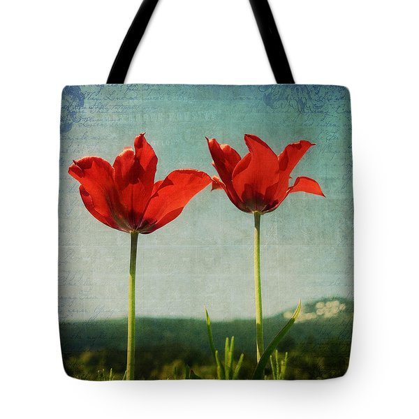I Go To The Hills When My Heart Is Lonely Tote Bag by Lisa Knechtel
