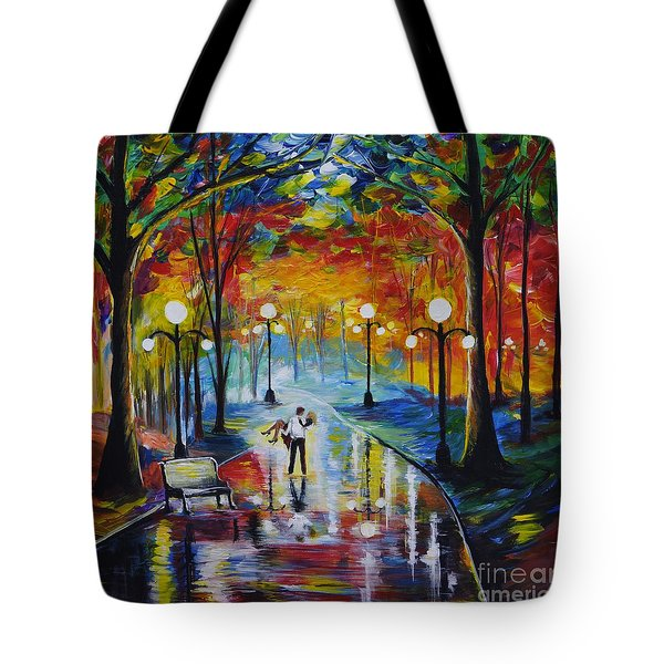 I Got You Babe Tote Bag by Leslie Allen