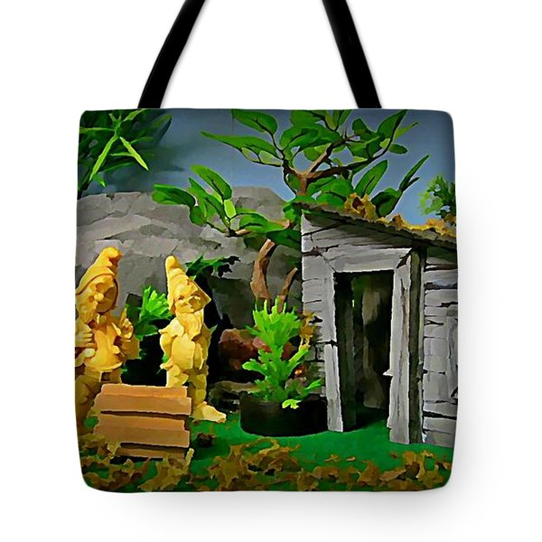 I Guess Dopey Didn't Look Good On Their Lawn Tote Bag by John Malone