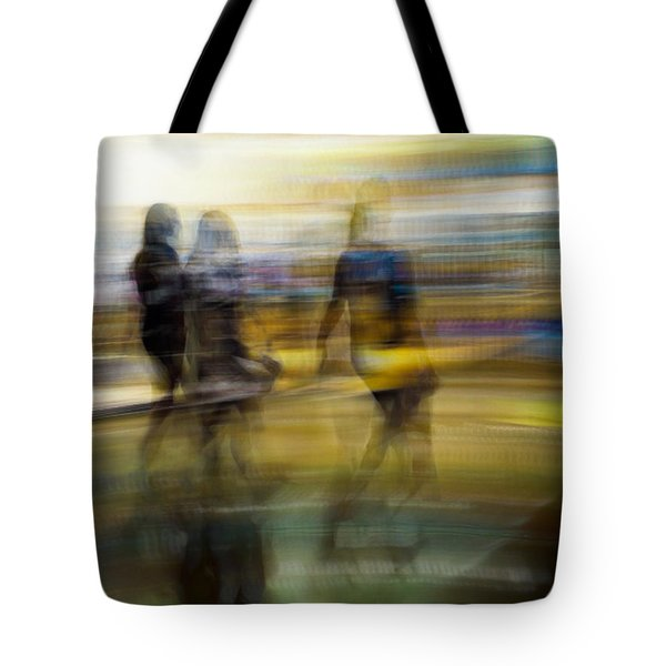 I Had A Dream That You And Your Friends Were There Tote Bag by Alex Lapidus