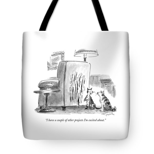 I Have A Couple Of Other Projects I'm Excited Tote Bag