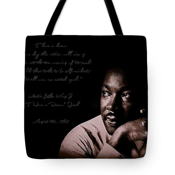 Tote Bag featuring the photograph I Have A Dream by Maciek Froncisz