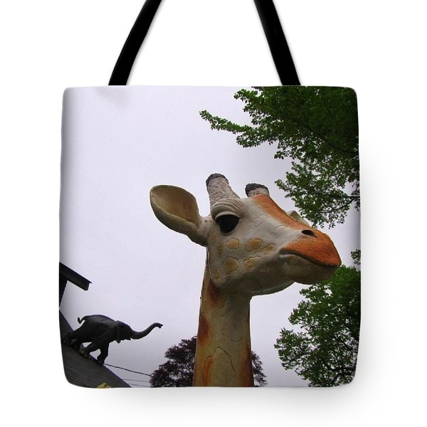 I Have No Idea What That Elephant Is Thinking Tote Bag by John Malone