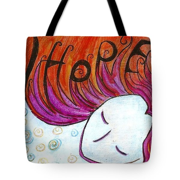 I Hope Tote Bag by Gioia Albano
