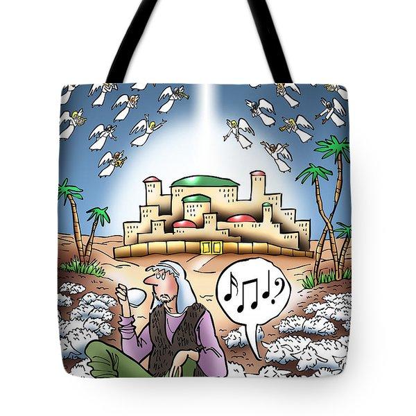 I Keep Hearing Music Tote Bag