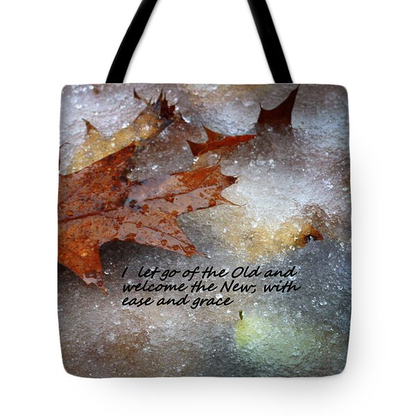 Tote Bag featuring the photograph I Let Go by Patrice Zinck