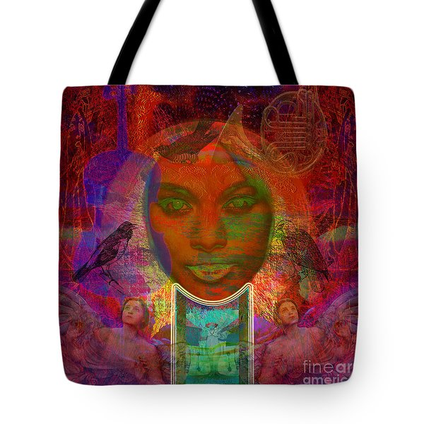 Solar Eyes Tote Bag