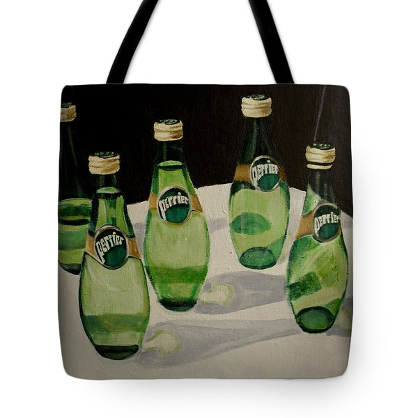 I Love Perrier Tote Bag