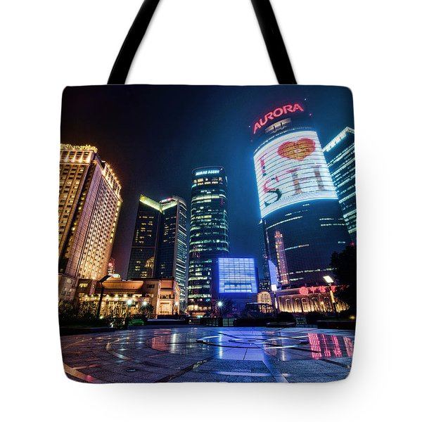 Tote Bag featuring the photograph I Love Sh by Yew Kwang