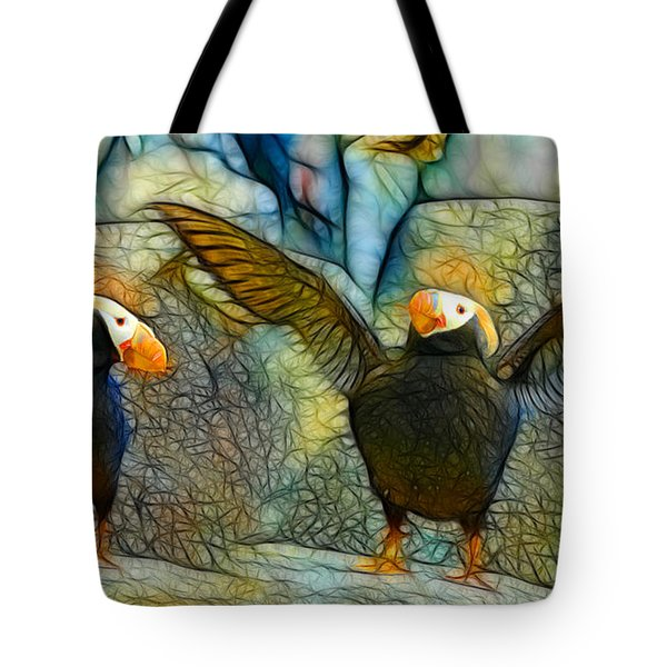 I Love So Much Tote Bag by Francine Dufour Jones