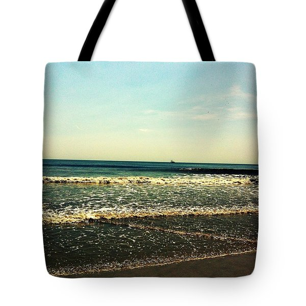 I Love The Beach Tote Bag