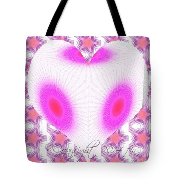I Love You And No One Else Tote Bag by PainterArtist FIN