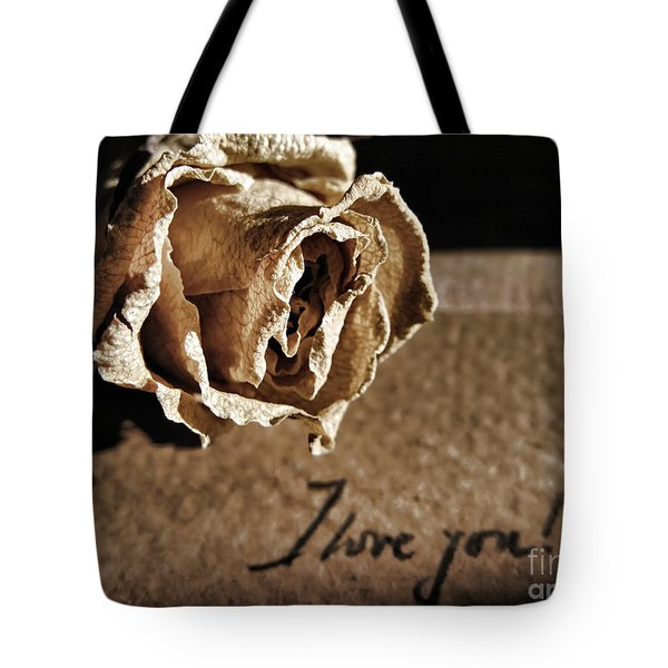 I Love You Letter Tote Bag