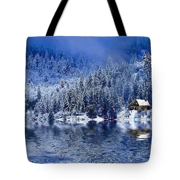 I Loved You In Winter Tote Bag