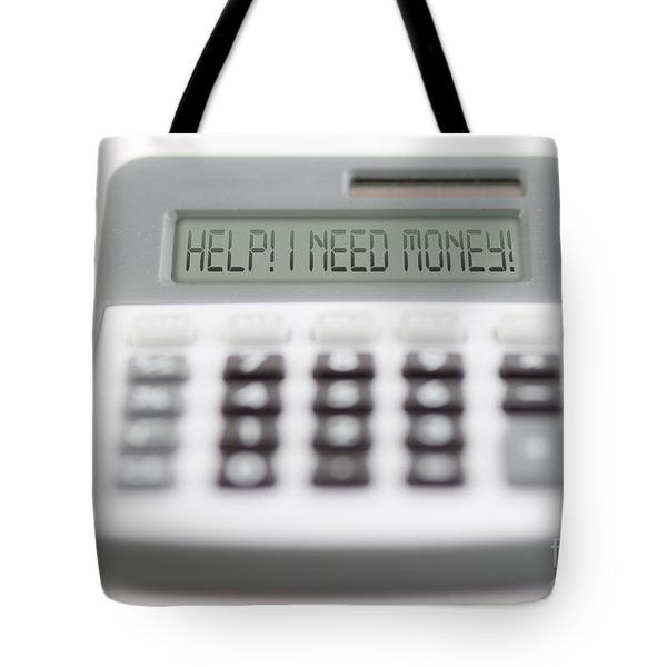 I Need Money Tote Bag by Michal Boubin