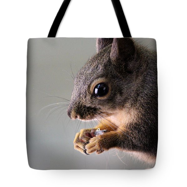 I Open The Seed Like This Tote Bag by Kym Backland