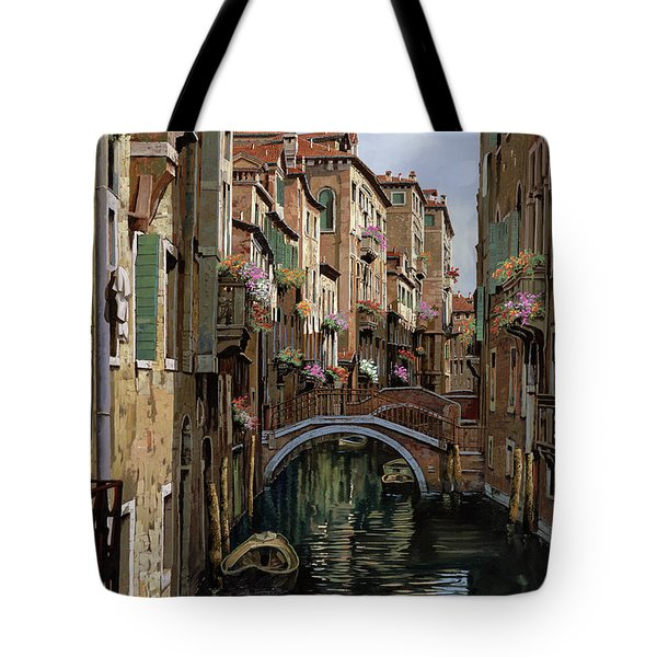 I Ponti A Venezia Tote Bag by Guido Borelli