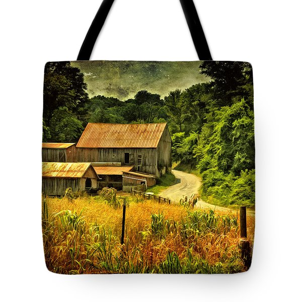 I Remember It Was In The Summer Tote Bag by Lois Bryan