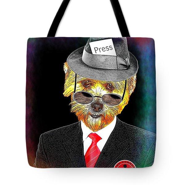 I Report The News Tote Bag