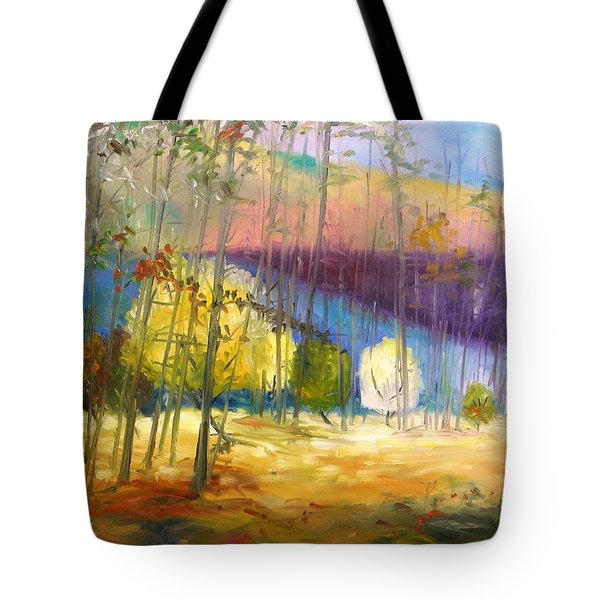 I See A Glow Tote Bag by John Williams