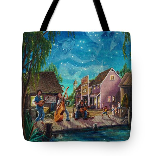 I See A Good Moon Arising Tote Bag