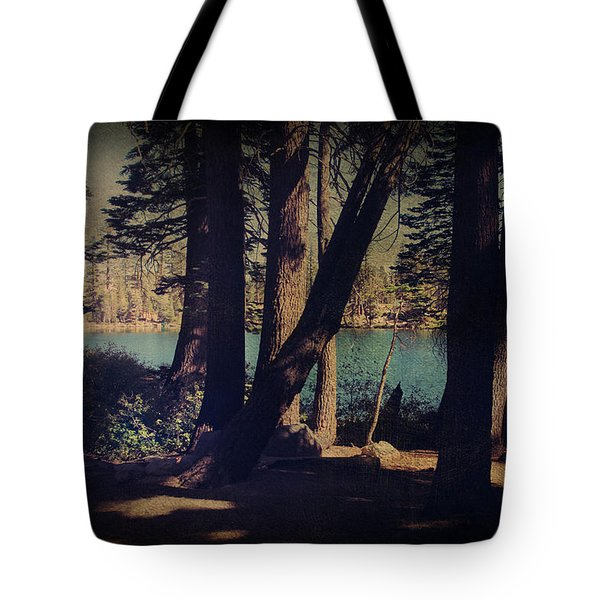 I Sit In The Shadows Tote Bag