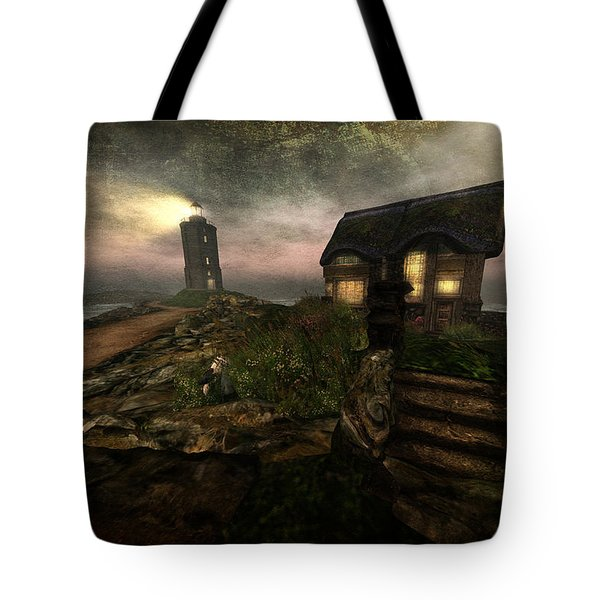 I Stand Alone On An Emerald Isle Tote Bag by Kylie Sabra