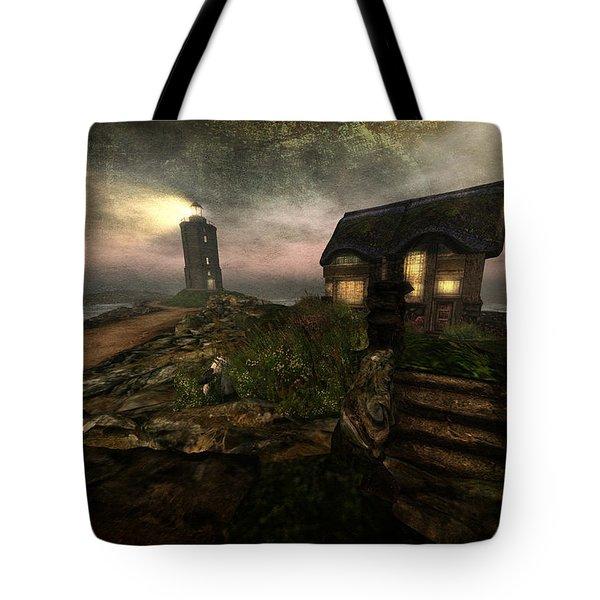 I Stand Alone On An Emerald Isle Tote Bag
