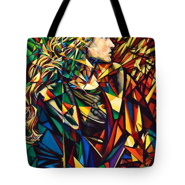 Tote Bag featuring the painting I Still Dream Of You by Greg Skrtic