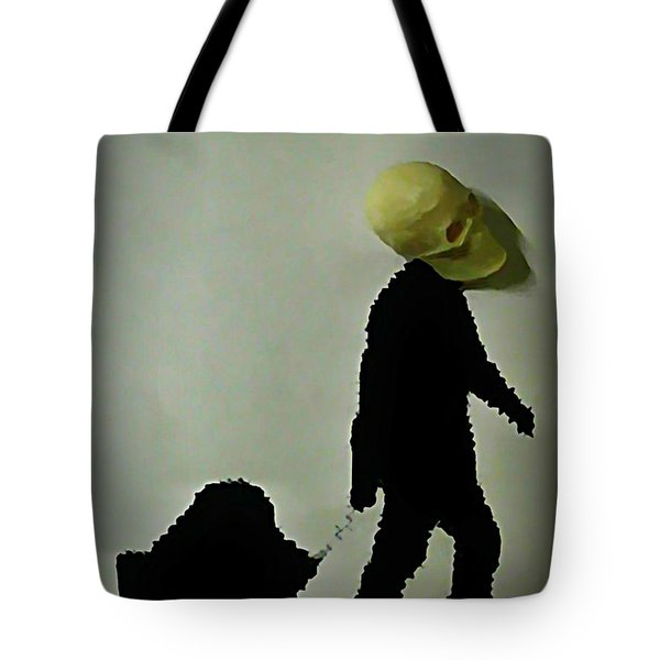 I Travel Light  Don't Need Much Tote Bag by John Malone