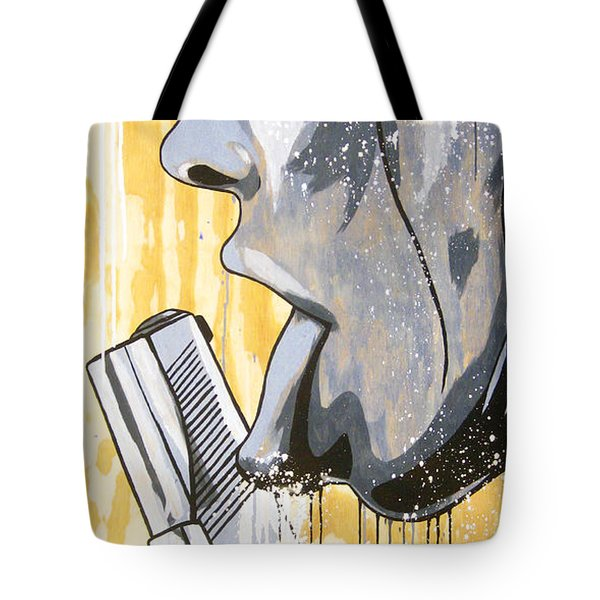 I Was A Teenage Hand Model Tote Bag by Bobby Zeik